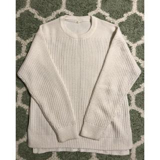 GU - GU 白セーター メンズSサイズ