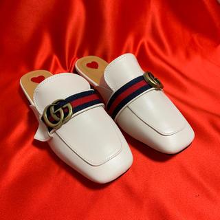 グッチ(Gucci)のローファースリッパ(ローファー/革靴)