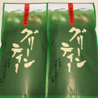 伊藤久右衞門★宇治抹茶薫るグリーンティー300g×2袋(茶)