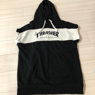 THRASHER - jouetie × THRASHER 半袖パーカー スウェット JOYRICH
