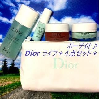 ディオール(Dior)の8324円分以上★ Dior ライフ 4点セット ローション クリーム 美容液(美容液)