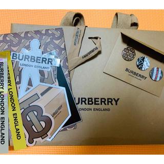 バーバリー(BURBERRY)のBurberry バーバーリー ステッカー&缶バッチ(バッジ/ピンバッジ)