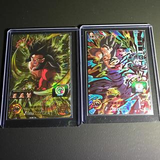 バンダイ(BANDAI)のSDBH UM8弾 孫悟飯ゼノ&孫悟飯GTセット(シングルカード)