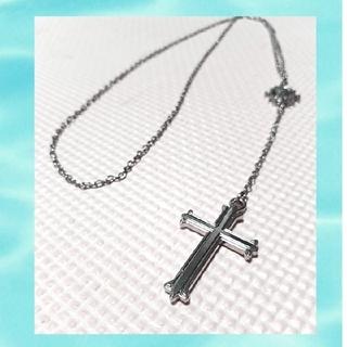 アヴァランチ(AVALANCHE)のAVALANCHE ロザリオネックレス silver color(ネックレス)