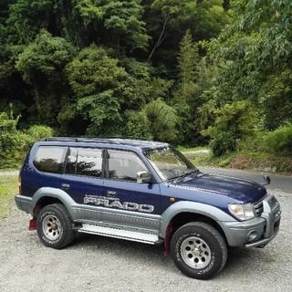 トヨタ - 車検 令和2年9月 ランドクルーザープラド    4WD 九州 大分県