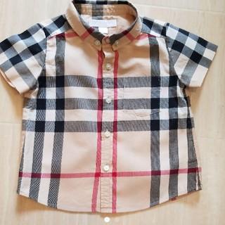 バーバリー(BURBERRY)のバーバリーキッズ バーバリーチェックシャツ(シャツ/カットソー)