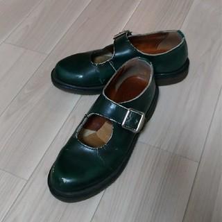 ドクターマーチン(Dr.Martens)のドクターマーチン 深緑 サイズ4(ローファー/革靴)