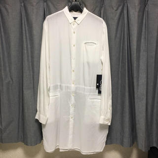 アンダーカバー(UNDERCOVER)のJohn UNDERCOVER 17SS 異素材切替ロングシャツ(その他)
