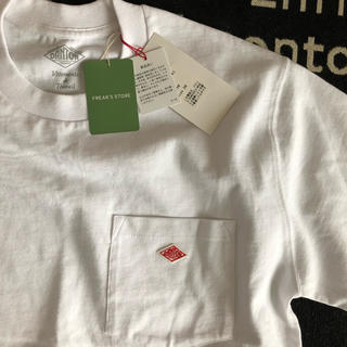 DANTON - DANTON  ポケットロゴTシャツ 38