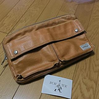 ポーター(PORTER)の吉田カバンPORTER☆キャメルウエストバッグショルダーバッグ送料無料(ショルダーバッグ)