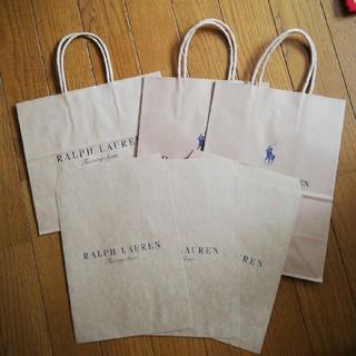 ラルフローレン(Ralph Lauren)のRALPH LAUREN&POLO RALPH LAUREN 紙袋(ショップ袋)