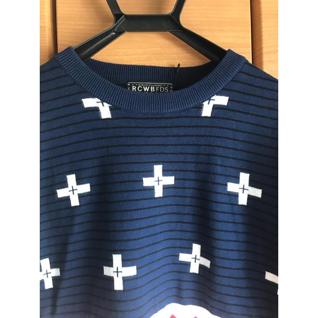RODEO CROWNS WIDE BOWL(ロデオクラウンズワイドボウル)のRODEO CROWNS WIDE BOWL ニット Tシャツ メンズのトップス(Tシャツ/カットソー(半袖/袖なし))の商品写真