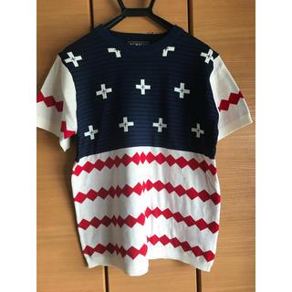 ロデオクラウンズワイドボウル(RODEO CROWNS WIDE BOWL)のRODEO CROWNS WIDE BOWL ニット Tシャツ(Tシャツ/カットソー(半袖/袖なし))