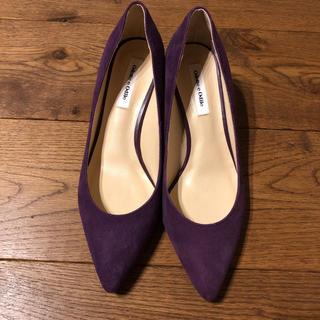 Odette e Odile - オデット エ オディール チャンキーヒール(Odette e Odile)紫色