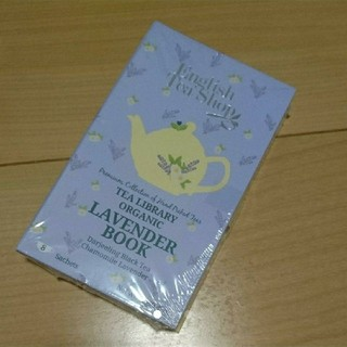 【未開封】English Tea Shop|Lavendar Book 紅茶(茶)
