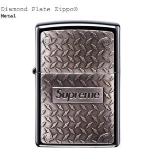 シュプリーム(Supreme)のSupreme Diamond Plate Zippo 19ss シュプリーム (タバコグッズ)