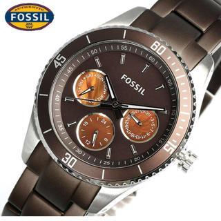 フォッシル(FOSSIL)のフォッシル es3033 ステラ ブラウン(腕時計(アナログ))