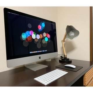 アップル(Apple)のiMac 27 2015 5k AppleCare残アリ Office2016(デスクトップ型PC)