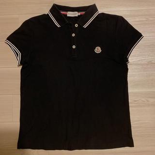 モンクレール(MONCLER)の[美品]モンクレール  ポロシャツ ブラック (ポロシャツ)