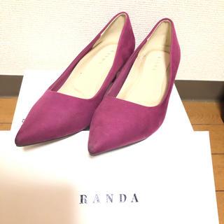 ランダ(RANDA)のRANDA ダスティーパープル パンプス(ハイヒール/パンプス)