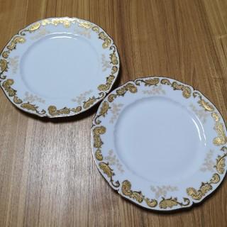 アビランド(Haviland)のオールド アビランド リモージュ ヴィンテージ 大皿 ディナープレート ペア(食器)