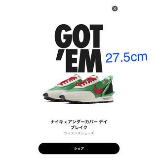 Nike✖️undercover lucky green 27.5cm(スニーカー)