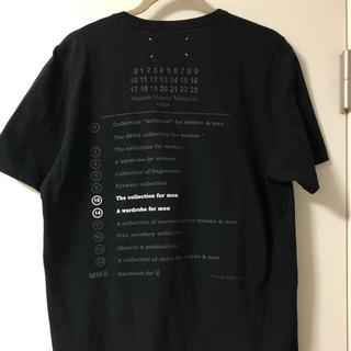 マルタンマルジェラ(Maison Martin Margiela)のmartin margiela 12ss バックプリントTEE(Tシャツ/カットソー(半袖/袖なし))