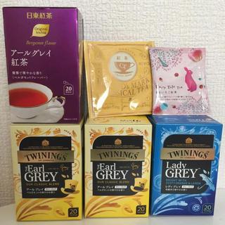 トワイニング 日東 他 紅茶 82バッグ アールグレイ レディグレイ ももいちご(茶)