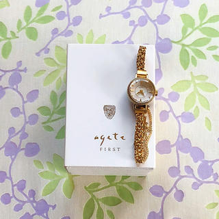 アガット(agete)のagete ㉞   腕時計・稼動品✨(腕時計)