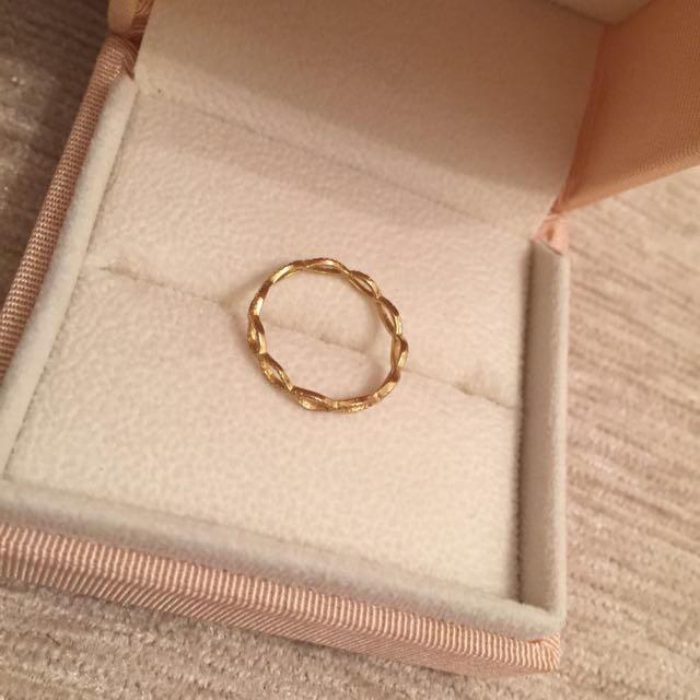 ピンキーリング♡ゴールド レディースのアクセサリー(リング(指輪))の商品写真