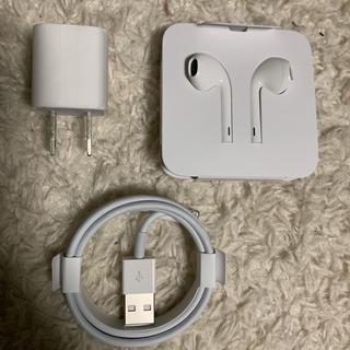 アイフォーン(iPhone)のiPhone8 イヤホンセット 未使用(ヘッドフォン/イヤフォン)