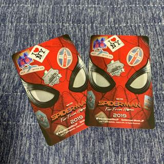 マーベル(MARVEL)のスパイダーマン ファーフロムホーム ムビチケ2枚(洋画)