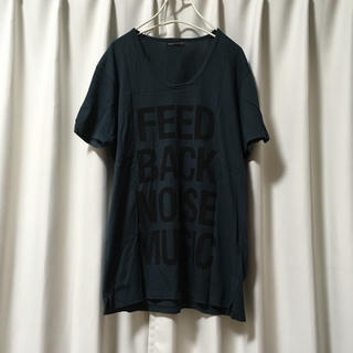ラッドミュージシャン(LAD MUSICIAN)の【美品】LAD MUSICIAN UネックTシャツ 42(Tシャツ/カットソー(半袖/袖なし))