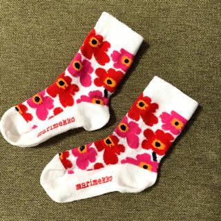 マリメッコ(marimekko)のマリメッコ ベビー靴下 6-12m(靴下/タイツ)