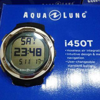 アクアラング(Aqua Lung)のAQUA LUNG ダイブコンピューター 『i450T』BL(マリン/スイミング)