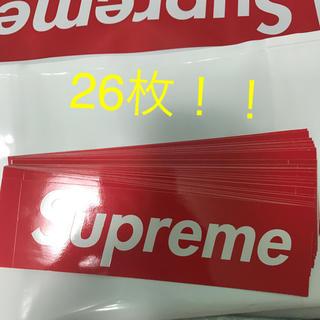 シュプリーム(Supreme)のSupreme ステッカー 26枚(ステッカー)