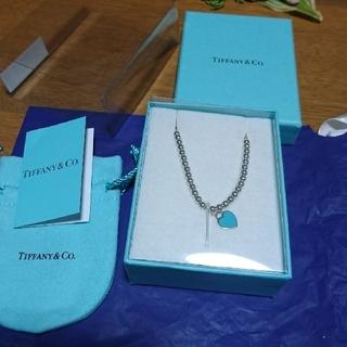 ティファニー(Tiffany & Co.)のティファニーブルーハートブレスレット(ブレスレット/バングル)