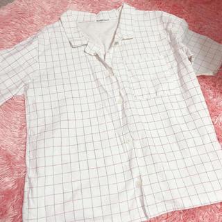 スタイルナンダ(STYLENANDA)の韓国 ポロシャツ チェック ホワイト 白(ポロシャツ)