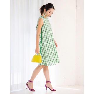 Chesty - akiki 定番 チェックワンピース CHECK A-DRESS obli