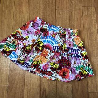 ヒステリックミニ(HYSTERIC MINI)の美品❤️今季フラワースカート120(スカート)