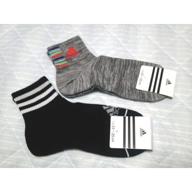 adidas(アディダス)のadidas ソックス2足組 [未使用] レディースのレッグウェア(ソックス)の商品写真