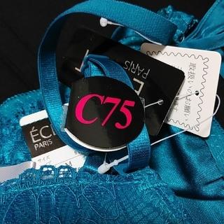 【タグ付き新品未使用】ECLAT(エクラ)C75 ブラ&ショーツ(ブラ&ショーツセット)