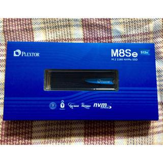 PLEXTOR☆SSD☆M.2 NVME☆512GB☆PX-512M8SeG(PCパーツ)