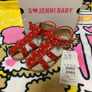 ジェニィ(JENNI)のS❤️Jenny baby ドットサンダル(サンダル)