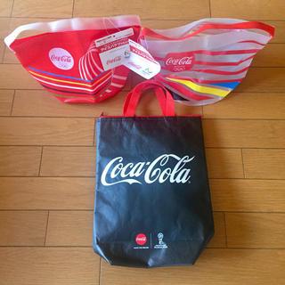 コカコーラ(コカ・コーラ)のコカコーラ  非売品   保冷バック クーラーバック & アイスバケツ(ノベルティグッズ)