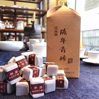 【黒茶】2007陳年青磚 100g(10粒/袋)(茶)