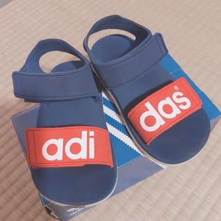 adidas - adidas アディダス キッズサンダル