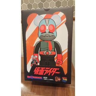 メディコムトイ BE@RBRICK 仮面ライダー新2号 100%&400%セット