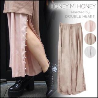 Honey mi Honey - セール♡honeymihoney  サイドボタンロングパンツ🍋