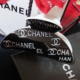 CHANEL - セール‼️入手困難 可愛いヘアークリップ 黒